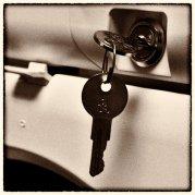 kluczyki w zamku