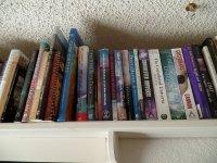 Pólka z ksiązkami